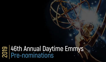 PRE-NOMINATIONS: 46th Annual Daytime Emmy pre-nominations announced