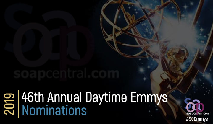 2019 Daytime Emmys Nominations: DAYS leads the pack with 27 nominations